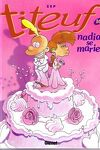 couverture Titeuf, Tome 10 : Nadia se marie