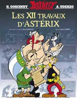 Couverture du livre : Astérix, HS : Les Douze Travaux d'Astérix