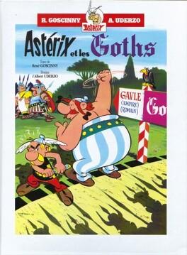 Couverture du livre : Astérix - Double album : Tomes 3 & 4 - Astérix et les Goths / Astérix gladiateur