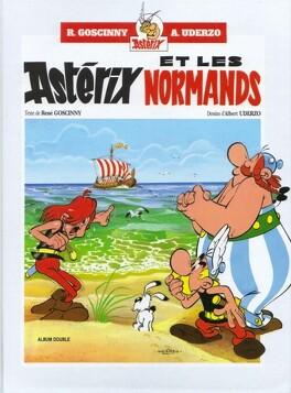 Couverture du livre : Astérix - Double album : Tomes 9 & 10 - Astérix et les Normands / Astérix légionnaire