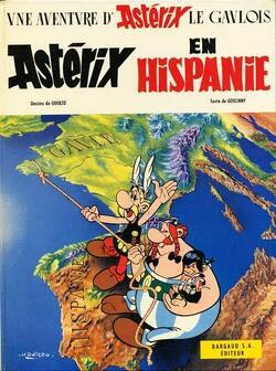 Couverture de Astérix, Tome 14 : Astérix en Hispanie