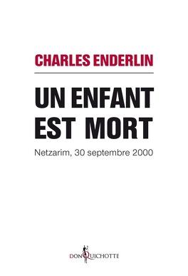 Couverture du livre : Un enfant est mort