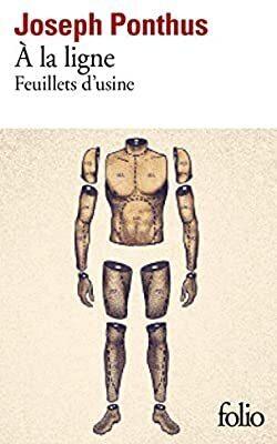 Couverture du livre : À la ligne