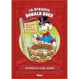 Couverture du livre : La Dynastie Donald Duck, Tome 6: Rencontre avec les Cracs-badaboums et autres histoires