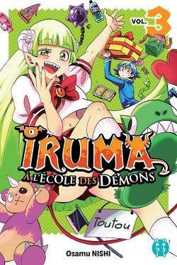 Couverture de Iruma à l'école des démons, Tome 3