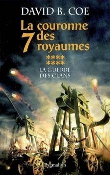 Couverture du livre : La Couronne des 7 Royaumes, tome 8 : La Guerre des clans