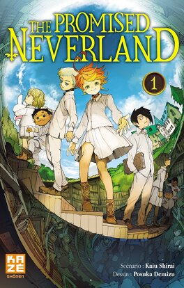 Couverture du livre : The Promised Neverland, Tome 1 : Grace Field House