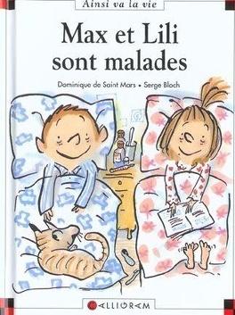 Couverture du livre : Max et Lili sont malades