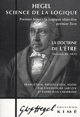 Couverture du livre : Science de la logique subjective, ou doctrine du concept