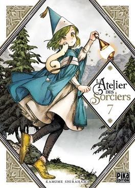 Couverture du livre : L'Atelier des sorciers, Tome 7