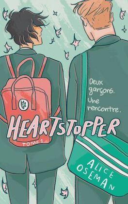 Couverture du livre : Heartstopper, Tome 1 : Deux garçons, une rencontre