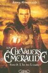 couverture Les Chevaliers d'Émeraude, Tome 5 : L'Île des Lézards
