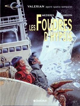 Couverture du livre : Valérian, agent spatio-temporel, tome 12 : Les Foudres d'Hypsis