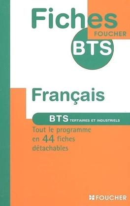 Francais Bts Tertiaires Et Industriels Livre De Severine