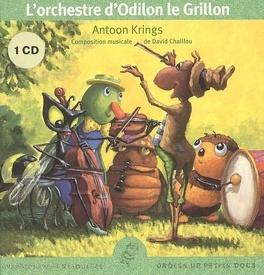 Couverture du livre : L'orchestre d'Odilon le grillon