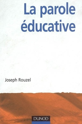 Couverture du livre : La parole éducative