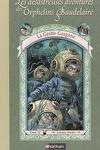 couverture Les Désastreuses Aventures des orphelins Baudelaire, Tome 11 : La Grotte Gorgone