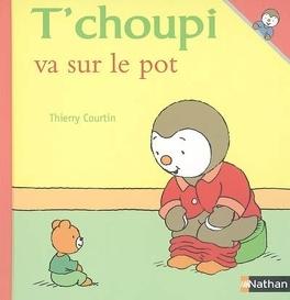 Couverture du livre : T'choupi va sur le pot