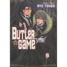 Couverture du livre : Butler game