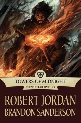 Couverture du livre : La Roue du Temps, tome 13/14 : Towers of Midnight