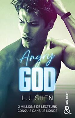 Couverture de All Saints High, Tome 3 : Angry God