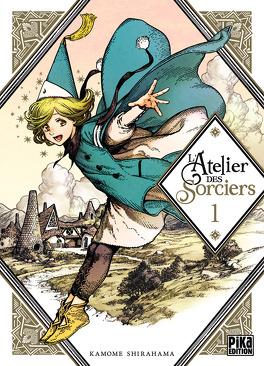 Couverture du livre : L'Atelier des sorciers, Tome 1