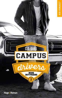Couverture de Campus Drivers, Tome 2 : Book Boyfriend