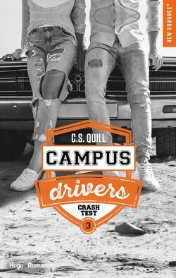 Couverture de Campus Drivers, Tome 3 : Crash Test