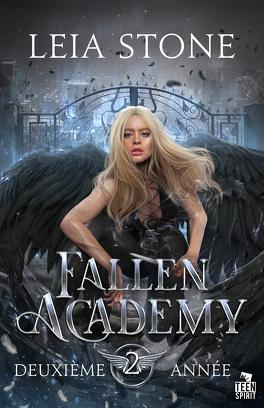 Couverture du livre : Fallen Academy, Tome 2 : Deuxième année