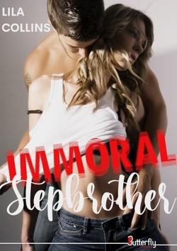 Couverture de Immoral stepbrother