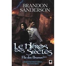 Couverture du livre : Fils des Brumes, Tome 3 : Le héros des siècles