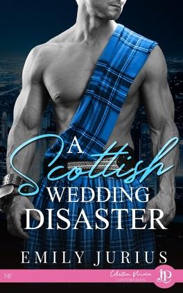 Couverture du livre : A Scottish wedding disaster