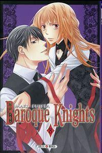Couverture de Baroque Knights, Tome 8