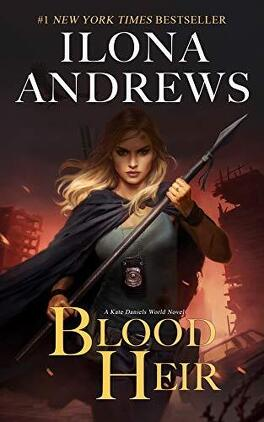 Couverture du livre : Kate Daniels World, Tome 1 : Blood Heir