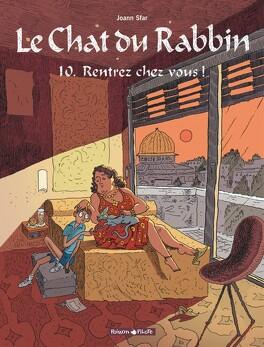 Couverture du livre : Le Chat du rabbin, Tome 10 : Rentrez chez vous !