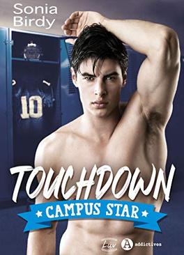 Couverture du livre : Touchdown Campus star