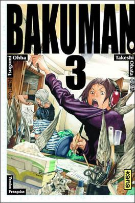 Couverture du livre : Bakuman, Tome 3