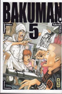 Couverture du livre : Bakuman, Tome 5