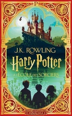 Couverture de Harry Potter, Tome 1 : Harry Potter à l'école des sorciers (MinaLima)