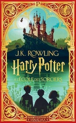 Couverture du livre : Harry Potter, Tome 1 : Harry Potter à l'école des sorciers (MinaLima)