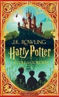 Harry Potter, Tome 1 : Harry Potter à l'école des sorciers (MinaLima)