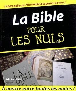 Couverture du livre : La Bible pour les nuls