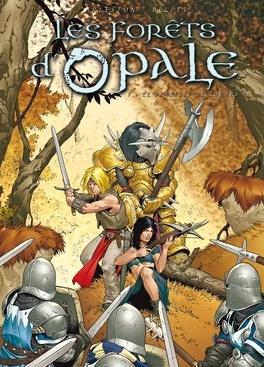 Couverture du livre : Les forêts d'Opale, Tome 1: Le Bracelet de Cohars