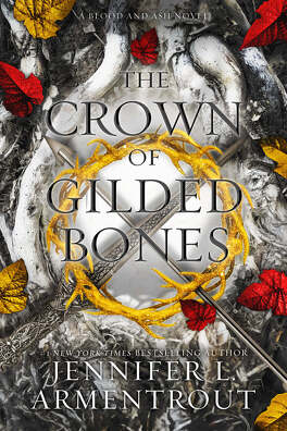 Couverture du livre : From blood and ash, Tome 3 : The Crown of Gilded Bones