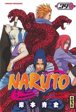 Couverture du livre : Naruto, Tome 39 : Ceux qui font bouger les choses