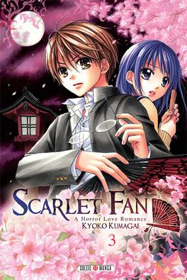 Couverture du livre : Scarlet Fan : A Horror Love Romance, Tome 3