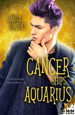 Couverture de L'Horoscope amoureux, Tome 5 : Cancer ships aquarius