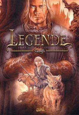 Couverture du livre : Légende, tome 1 : L'enfant loup