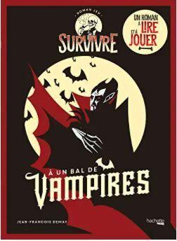 Couverture du livre : Survivre à un bal de vampires
