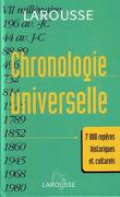 Chronologie universelle Larousse